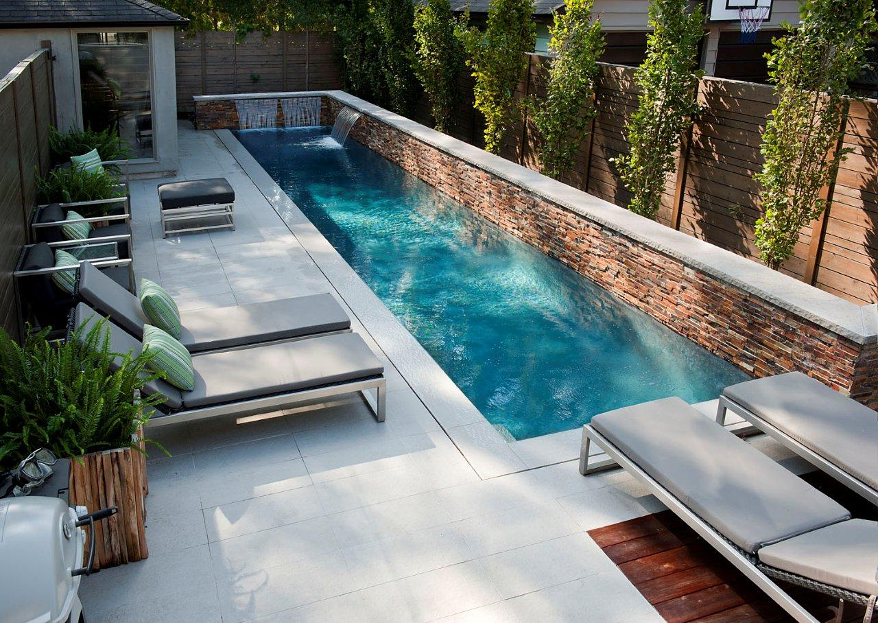 Small Back Yard Swimming Pools Ideas
